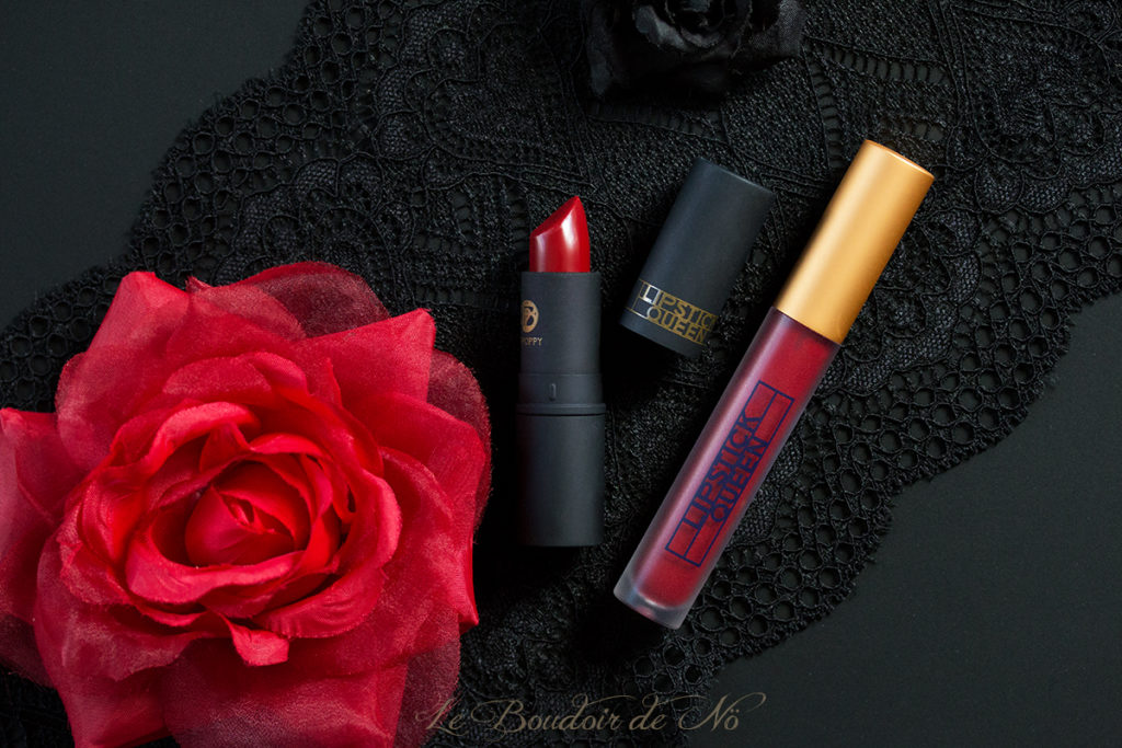 Deep Red Lipstick Queen