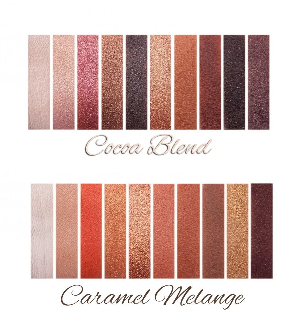 Cocoa Blend and Caramel Melange Zoeva