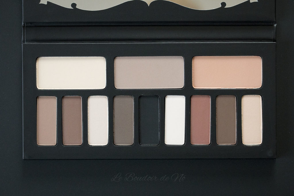 Kat Von D Shade + lLight eye palette Swatches