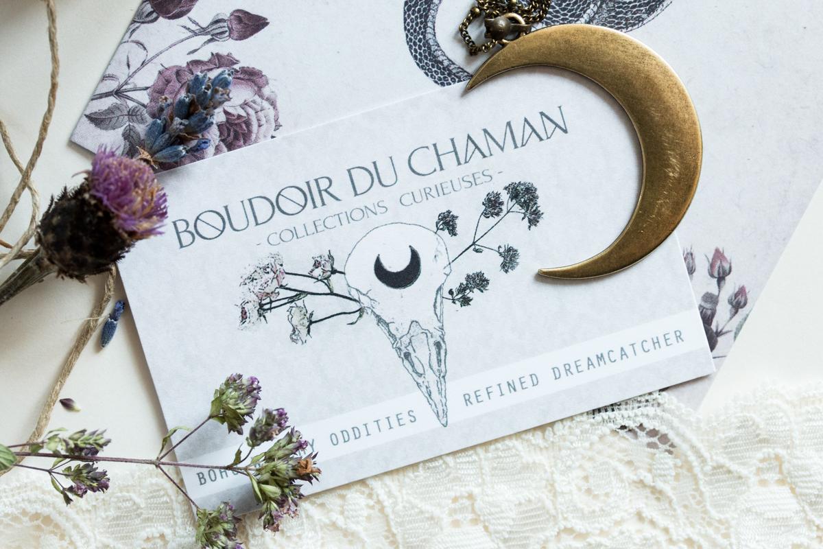 Boudoir du Chaman Revue Poudre de bézoard, Arsenic, Elixir de mandragore, Belladonna, Belladone, Deadly Nightshade
