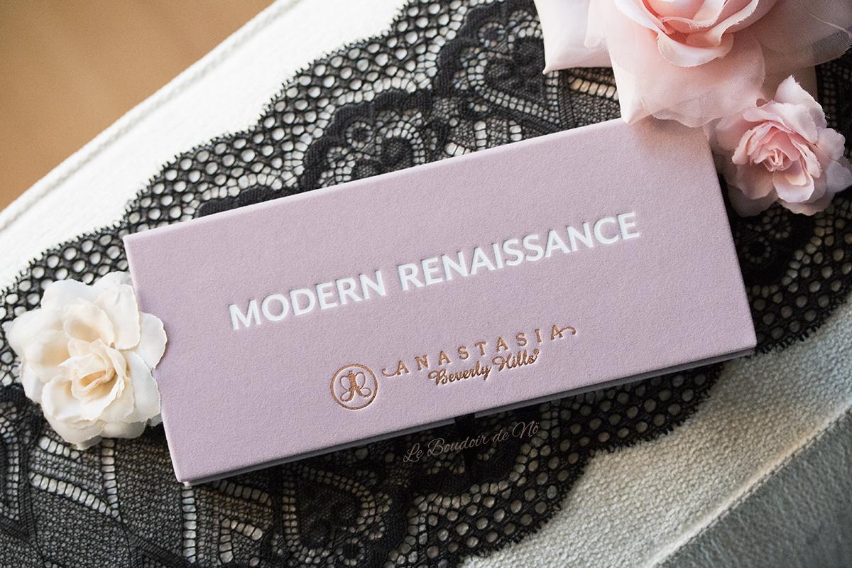 ABH Modern Renaissance Palette revue, swatchs, comparaison