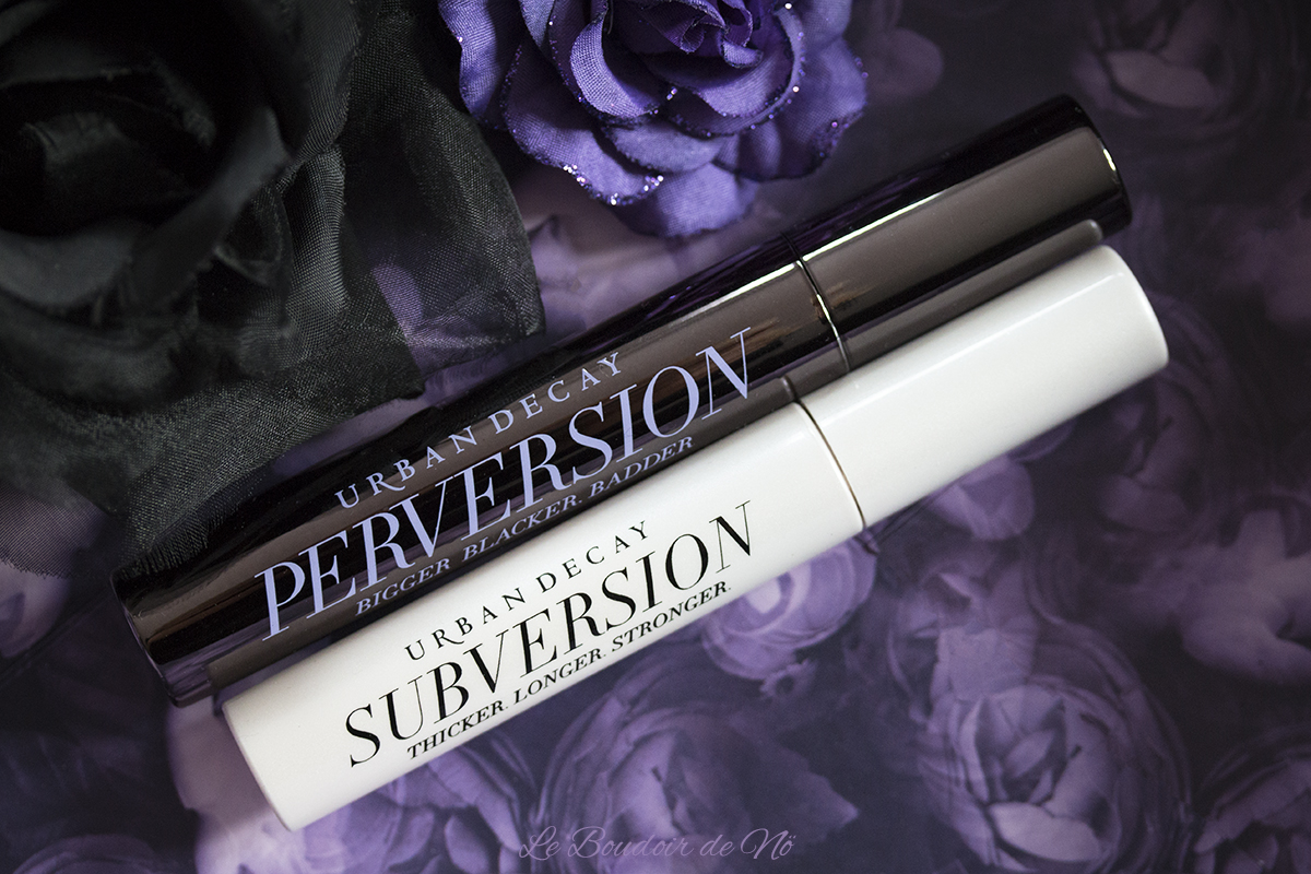 Urban Decay Mascaras Perversion et Subversion