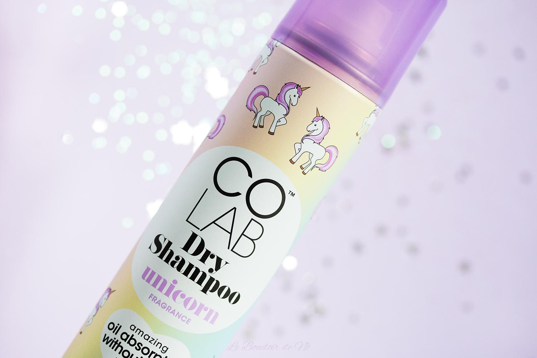 Shampoing sec Co Lab Unicorn fragrance, avis, revue, parfum licorne, dry shampoo, parfum, odeur, scent