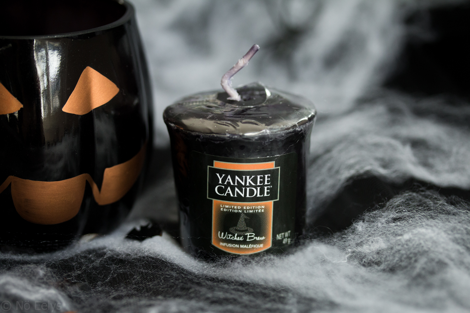 Photo de la bougie Witches Brew, collection Halloween Yankee Candle 2017, revue, avis