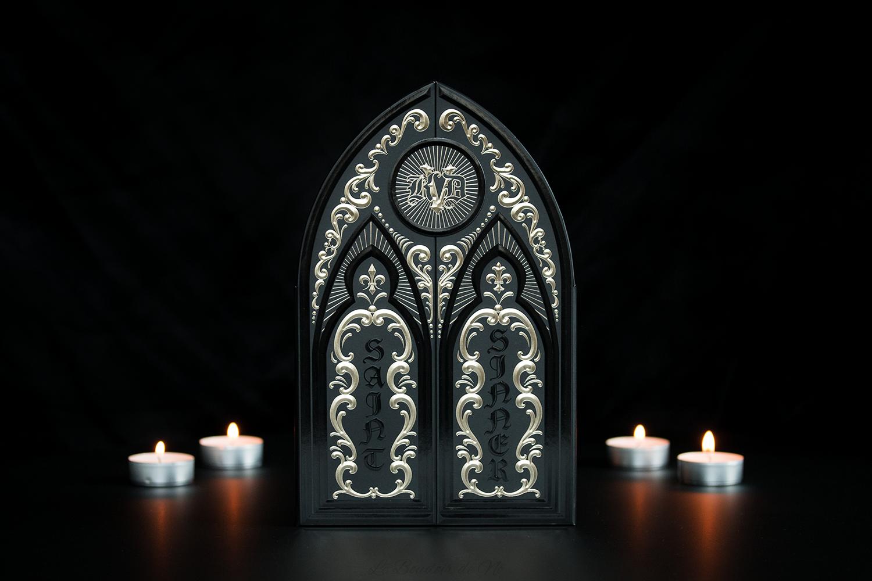 Palette Saint + Sinner de Kat Von D, revue et swatchs par Nö Eelys