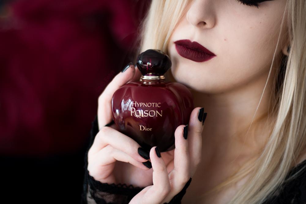 Revue de l'eau de parfum Dior Hypnotic Poison par Nö Eelys du Boudoir de Nö