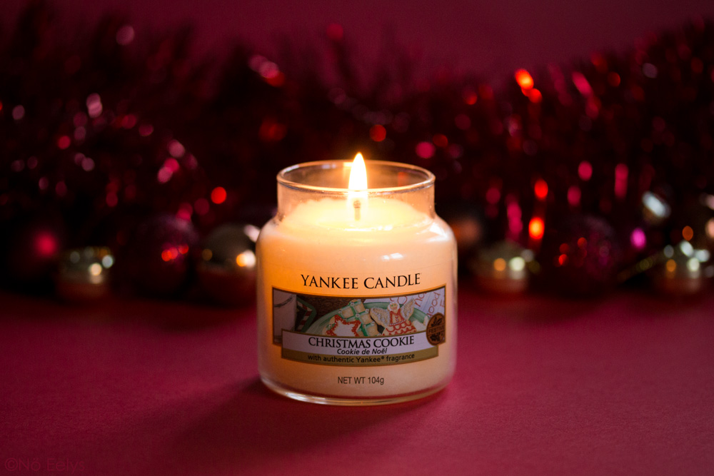 Photo de la Bougie Yankee Candle Christmas Cookie, Cookie de Noël, avis, revue