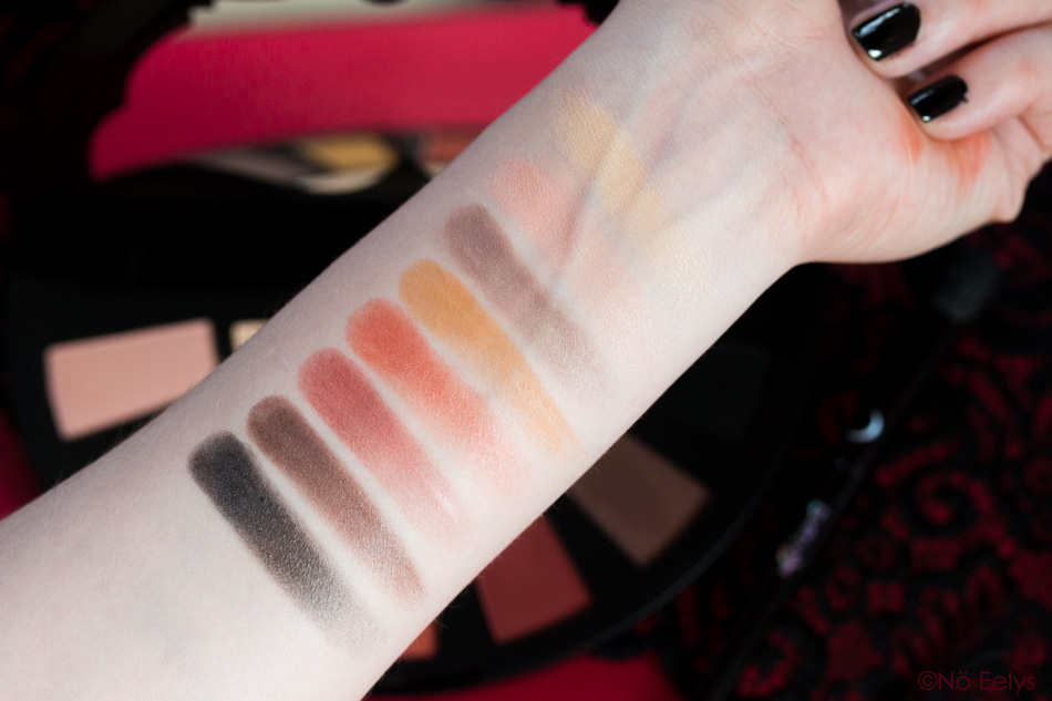 Orb of Light Swatches Black Moon Cosmetics Full Moon Palette