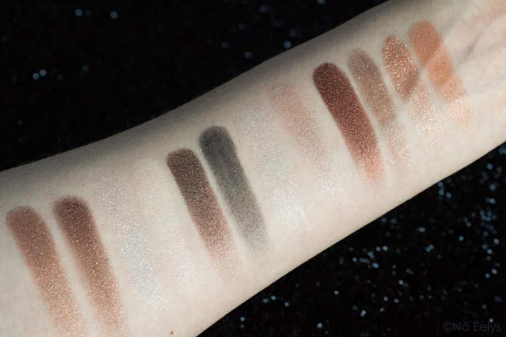 Swatches Shade + Light Glimmer Kat Von D beauty
