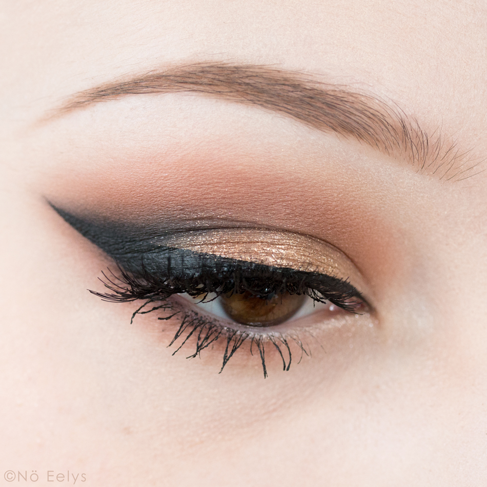 Gold Dipped makeup look : idée de maquillage avec la palette Chocolate Gold de Too Faced