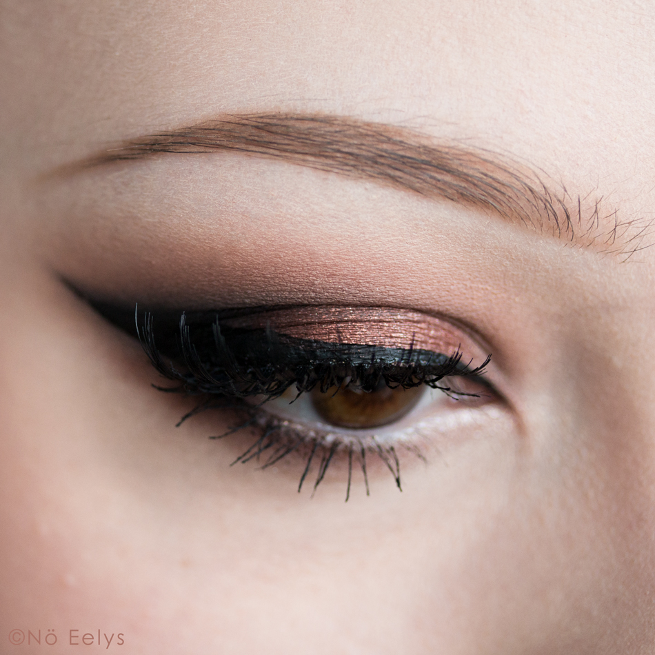 Love & Cocoa makeup look : idée de maquillage avec la palette Chocolate Gold de Too Faced