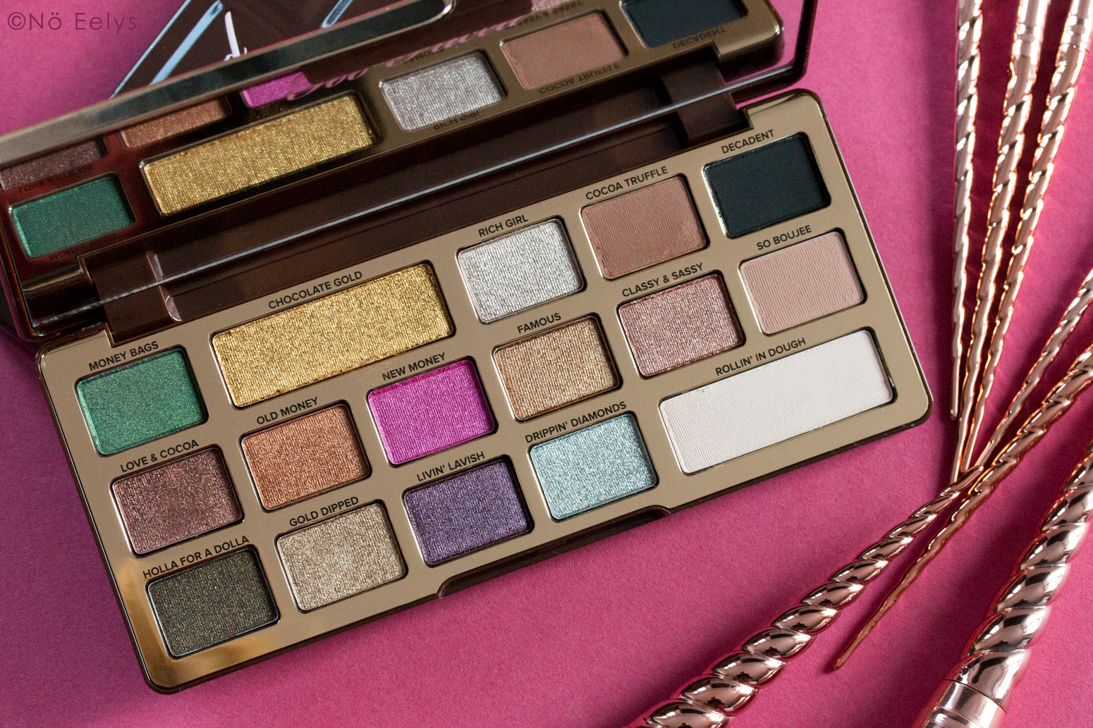 Revue Chocolate Gold Too Faced : mon avis sur la palette