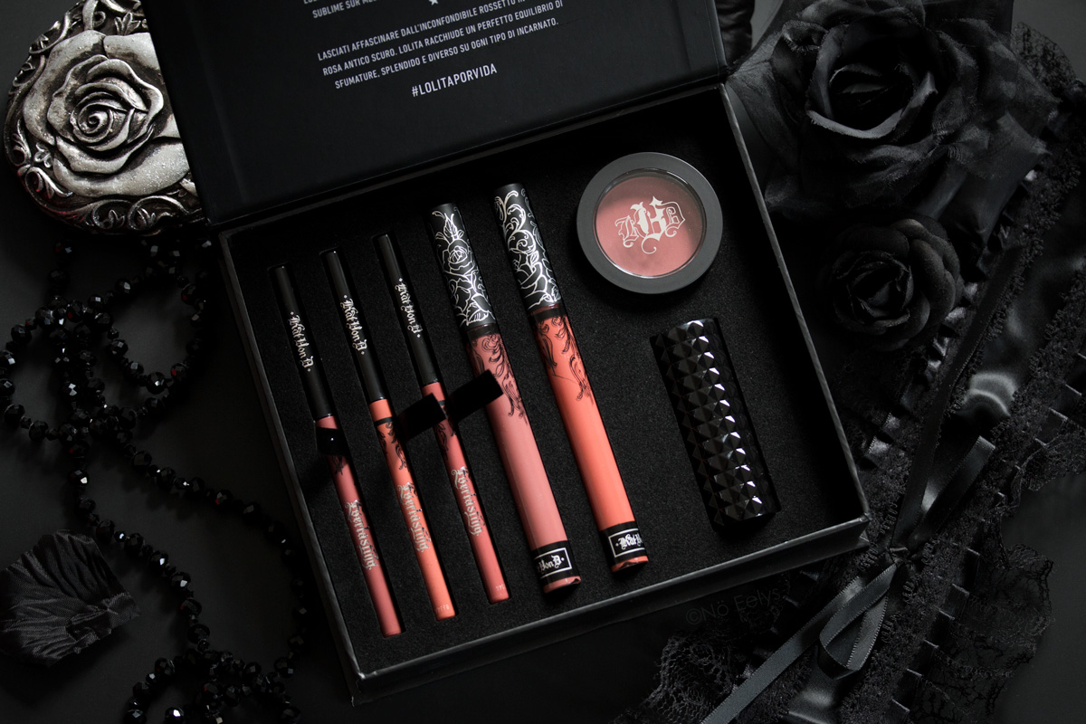Revue du coffret Lolita Obsession Kat Von D beauty