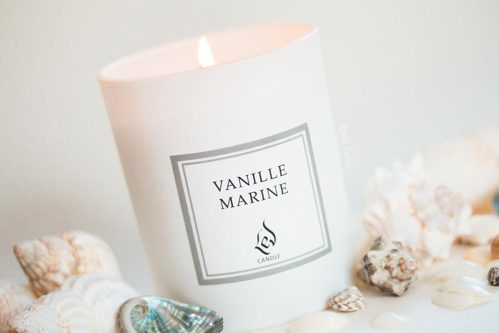 Bougie Vanille Marine Lev Candle, mon avis, revue complète avec notes olfactives