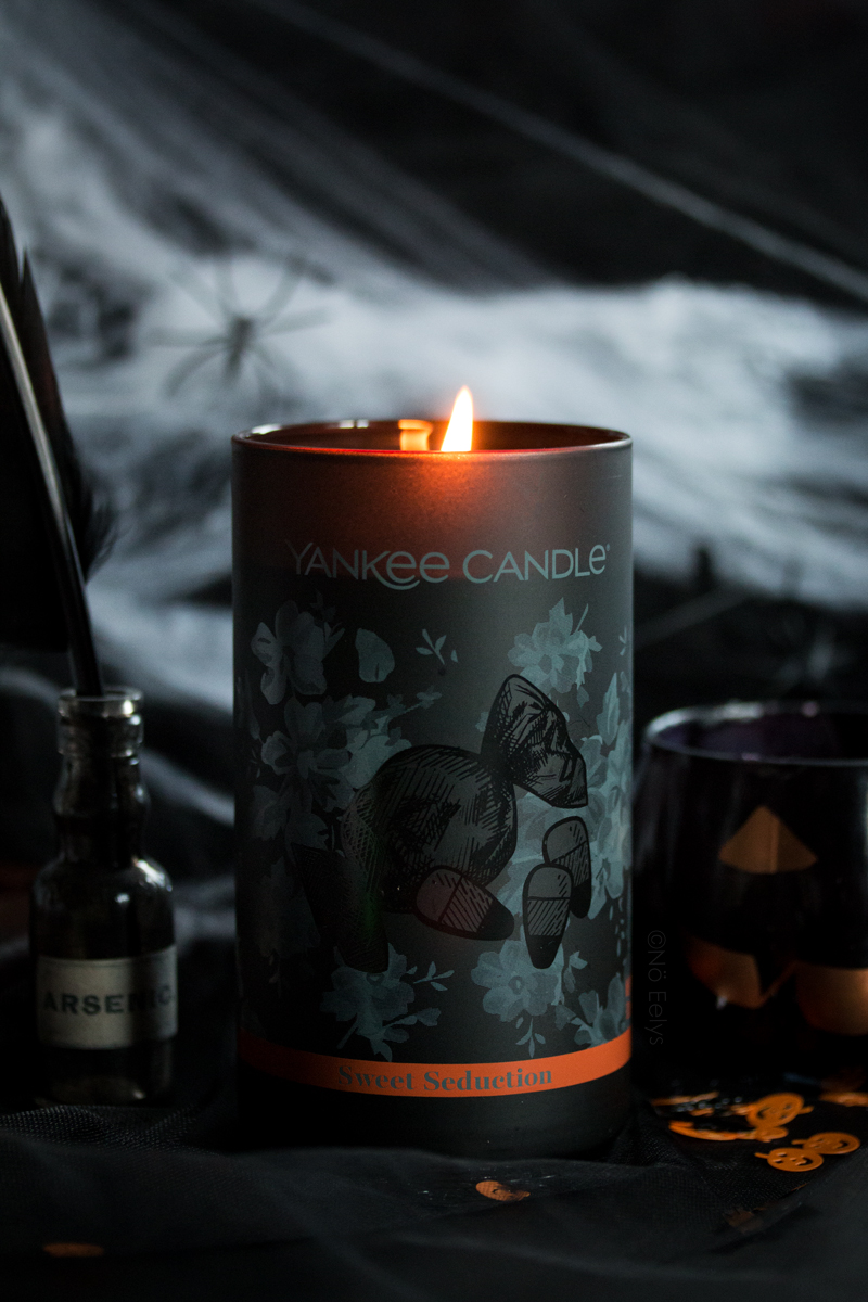 La bougie Halloween 2018 Yankee Candle Sweet Seduction