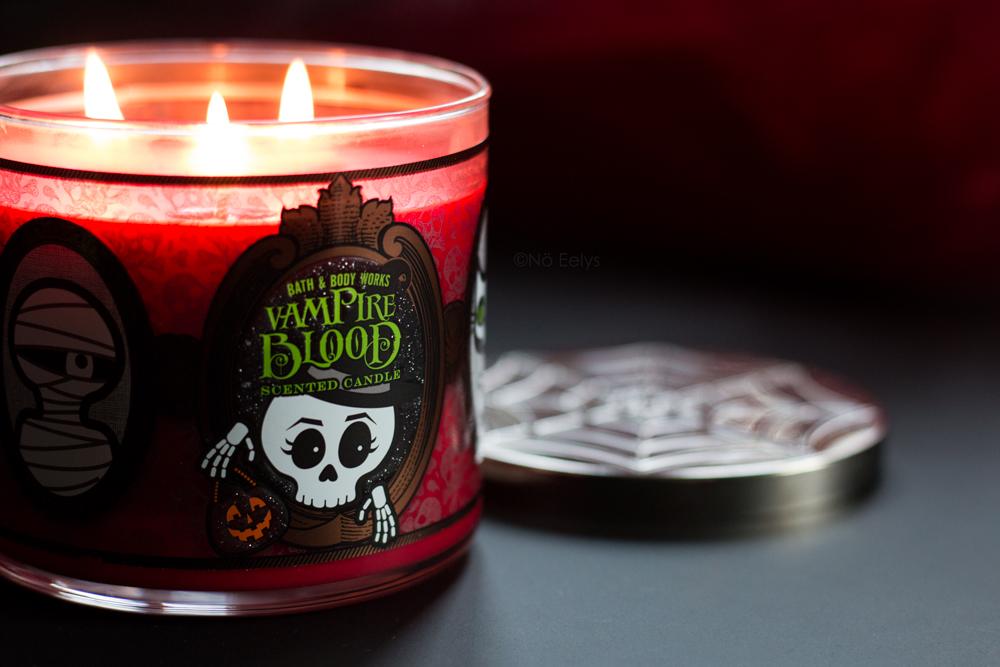 Mon avis sur la bougie Halloween Vampire Blood de Bath & Body Works