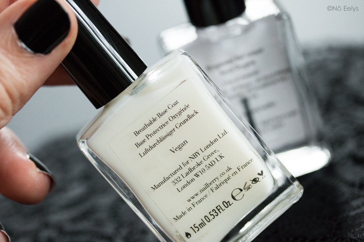 Nailberry, Le vernis Naturel vegan et cruelty free