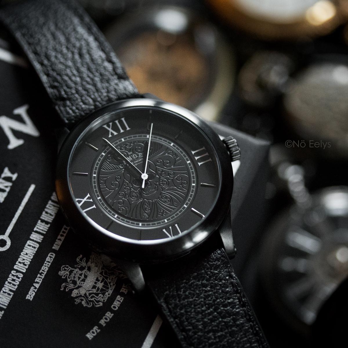 GIVEAWAY Montre gothique victorienne Memento Mori The Camden Watch company