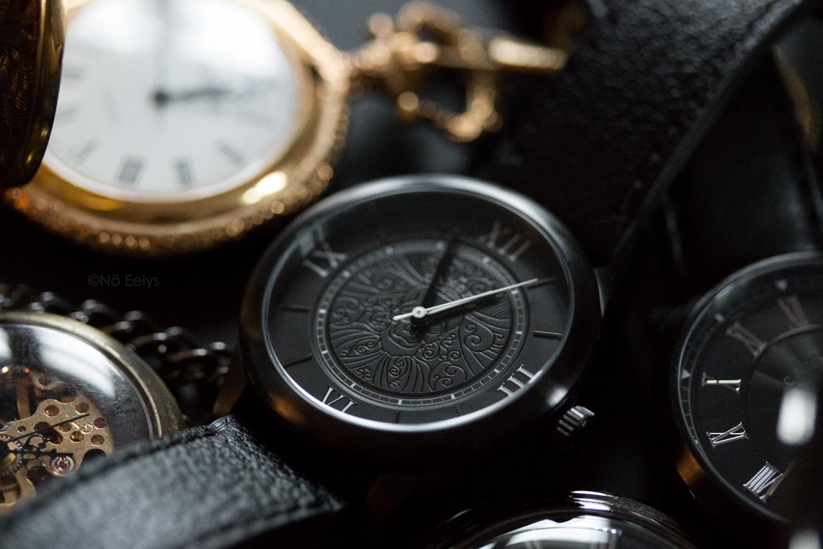 Montre gothique victorienne Memento Mori The Camden Watch company