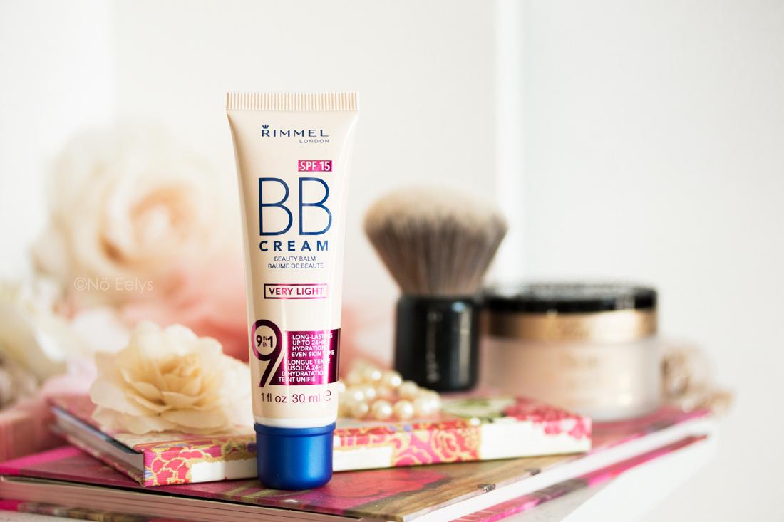 La BB crème 9 in 1 Very Light de Rimmel London pour peaux très claires, revue complète et swatchs