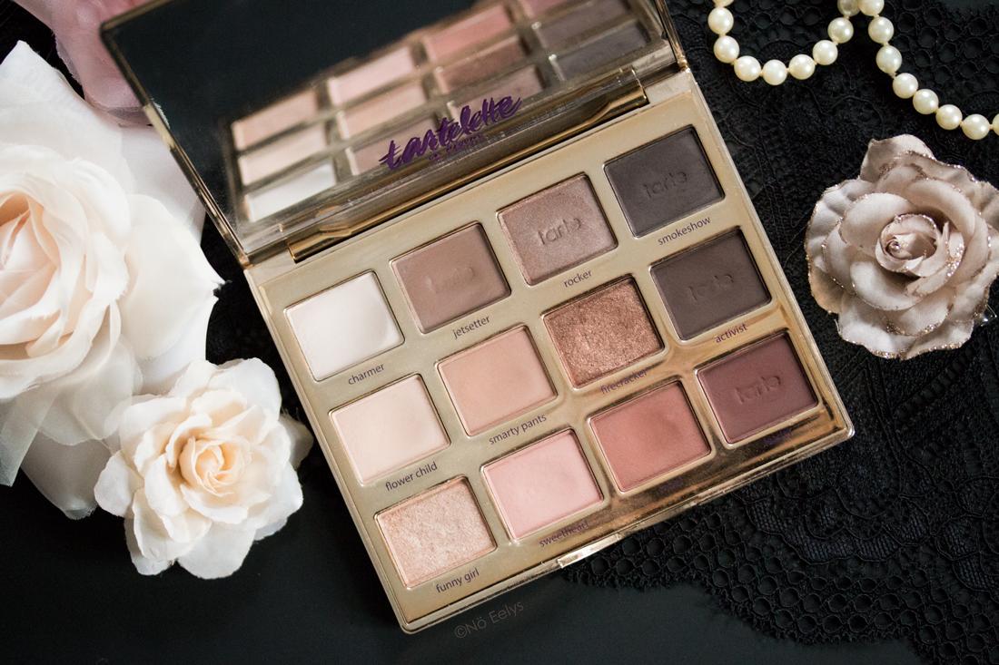 La palette Tartelette in Bloom Tarte Cosmetics (swatchs)