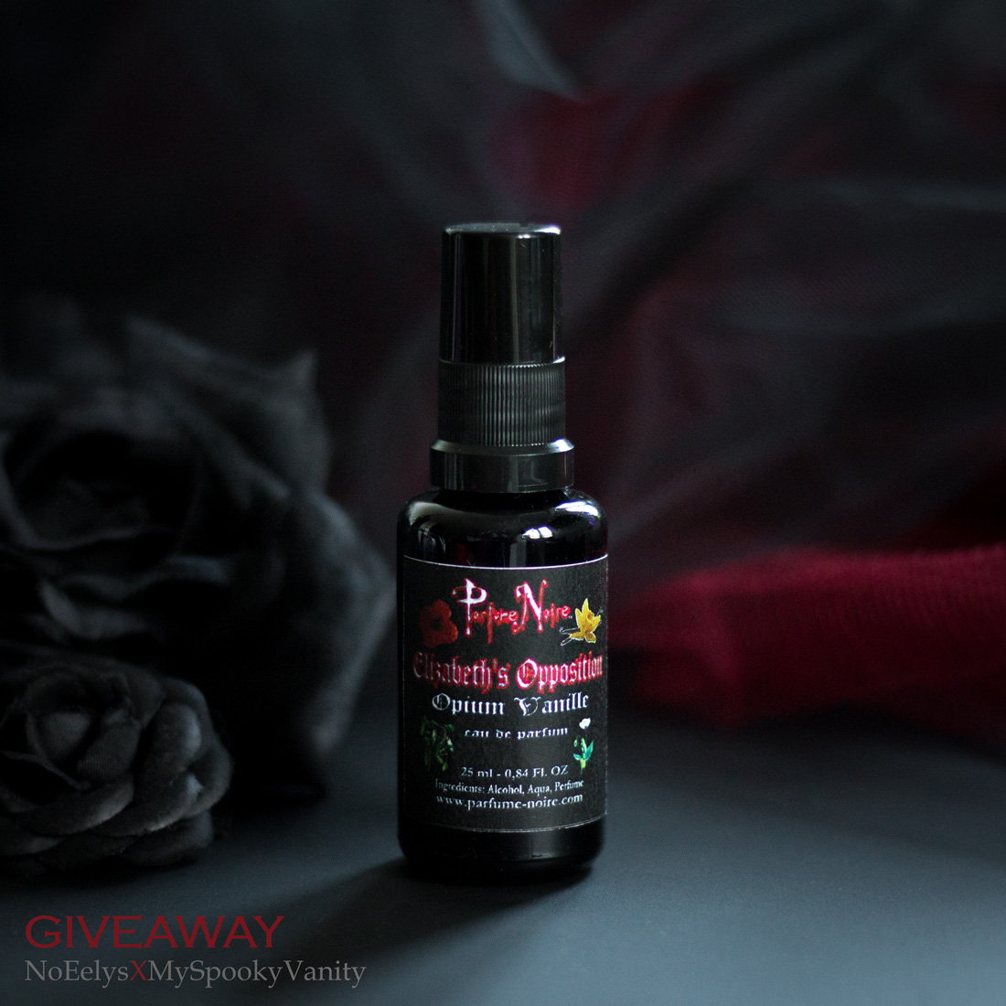 My Spooky Vanity Parfume Noire Elizabeth's Opposition Opium Vanille parfum gothique