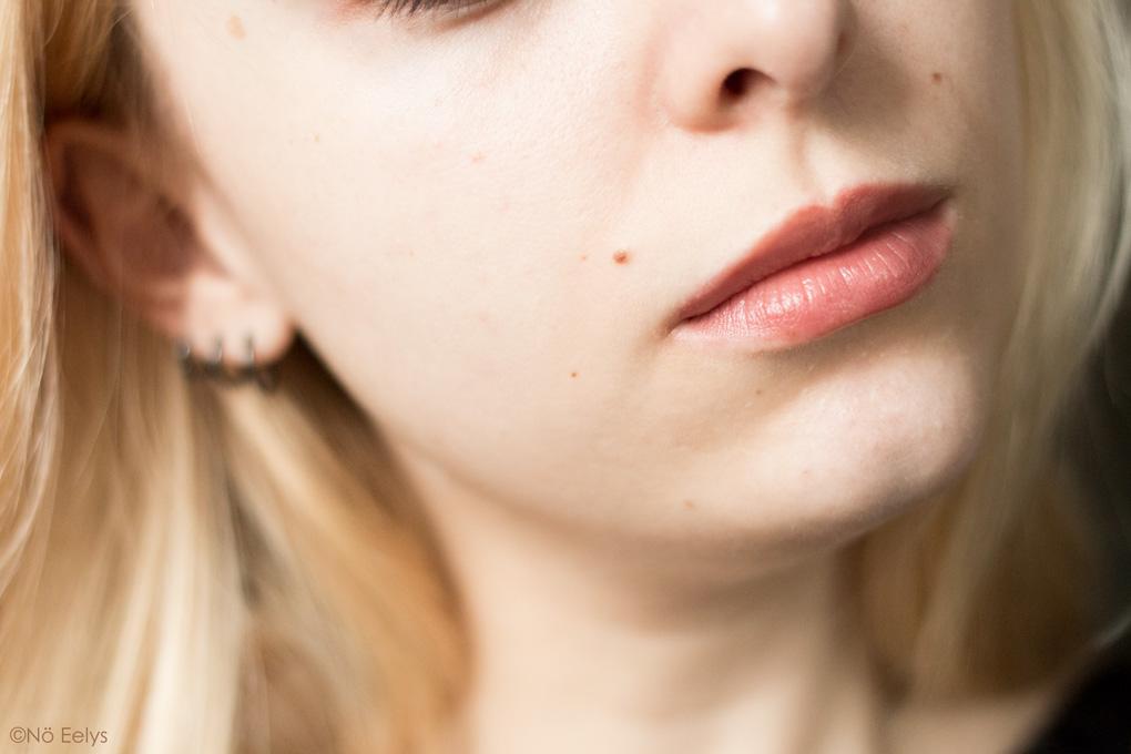 Avant-Après KVD Beauty True Portrait 006 (avant)
