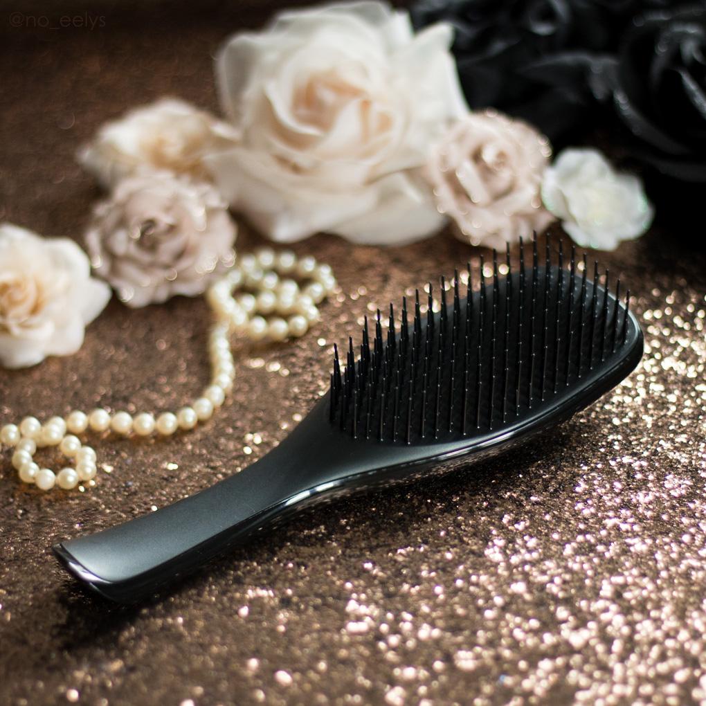 The Wet Detangler Black Licorice mon avis sur la brosse spéciale cheveux mouillés Tangle Teezer