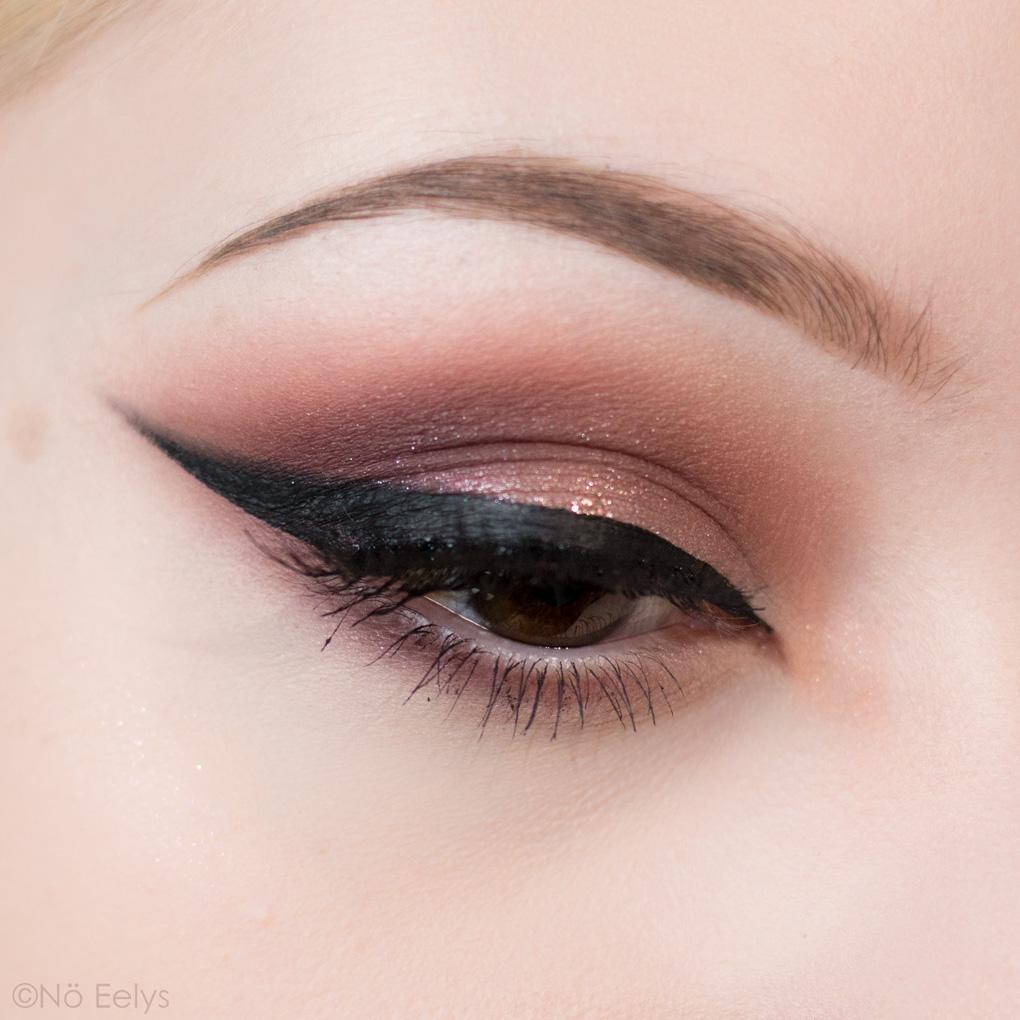 Idée de maquillage romantique avec la Lolita Por Vida de Kat Von D beauty