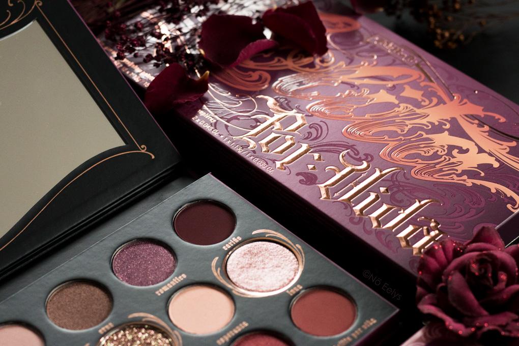 Revue de la palette Lolita Por Vida Kat Von D Beauty, avis et swatchs par Le Boudoir de Nö Eelys