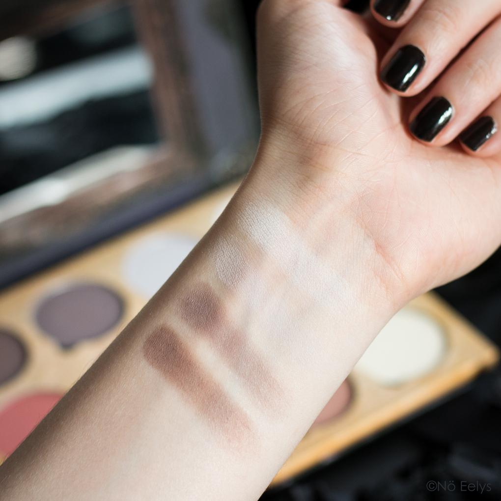 Palette Lunatick Cosmetic Labs Pro Contour Vol 1 avis et swatchs 1/3