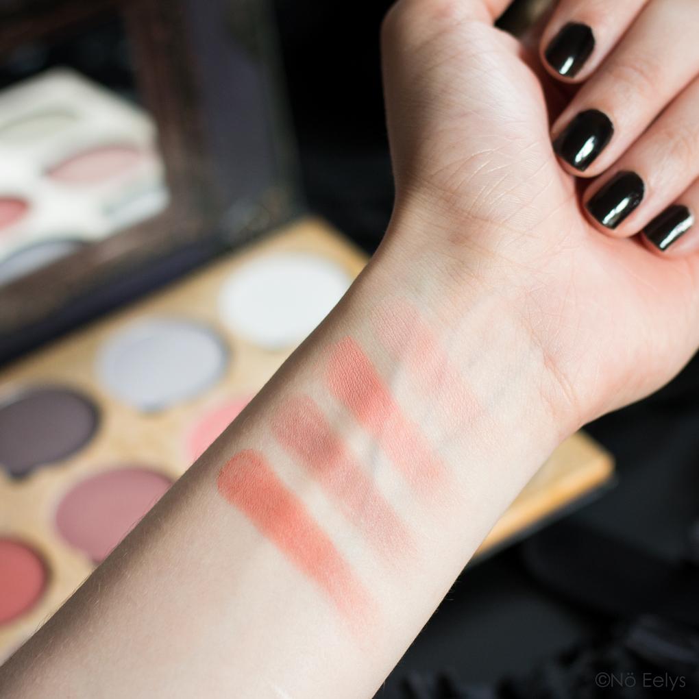 Palette Lunatick Cosmetic Labs Pro Contour Vol 1 avis et swatchs 2/3