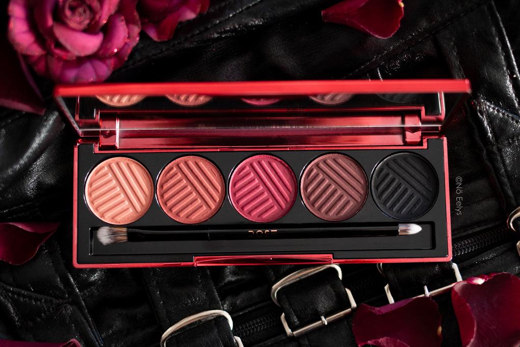 Dose of Colors palette Blushing Berries : revue complète avec avis, photos et swatchs (zoom sur le packaging)