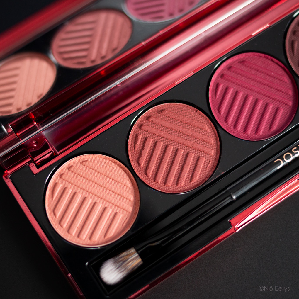 Swatchs palette Blushing Berries Dose of Colors (revue complète)
