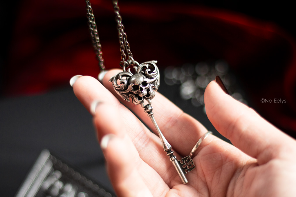 Mon avis sur le collier Killstar Skeleton Key necklace