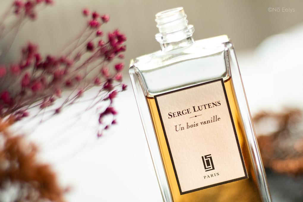Zoom sur le parfum Un Bois Vanille Serge Lutens (mon avis dans cette revue complète, notes olfactives)
