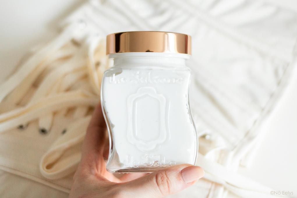 Mon Avis sur le Baume Fondant Bio Ayurvédique La Sultane de Saba, parfum Sur la Route des Epices Vanille Ambre Patchouli (revue complète, zoom sur les détails du packaging)