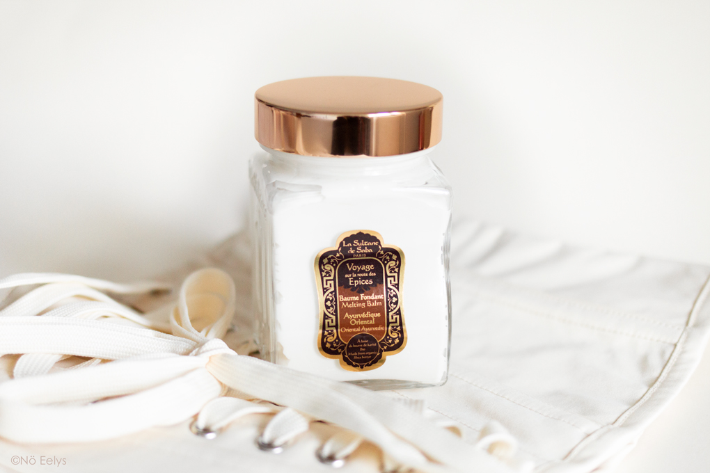Mon Avis sur le Baume Fondant Bio Ayurvédique La Sultane de Saba, parfum Sur la Route des Epices Vanille Ambre Patchouli