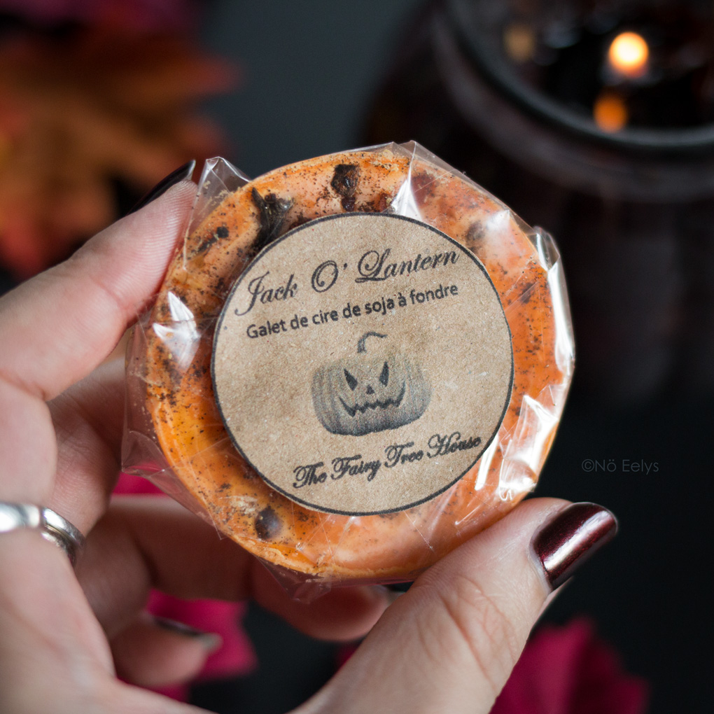 Jack O Lantern de Vanillahry (The Fairy Tree House) cire à fondre au soja sorcière Avis parfum citrouille vanille