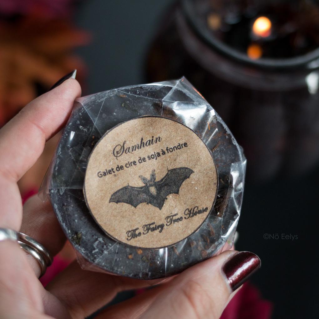 Samhain de Vanillahry (The Fairy Tree House) cire à fondre au soja sorcière Avis parfum giroflier cannelle épices
