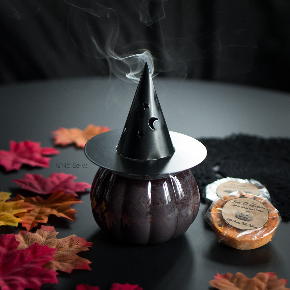 Vanillahry The Fairy Tree House bougie chapeau de sorcière Jack O Lantern Avis
