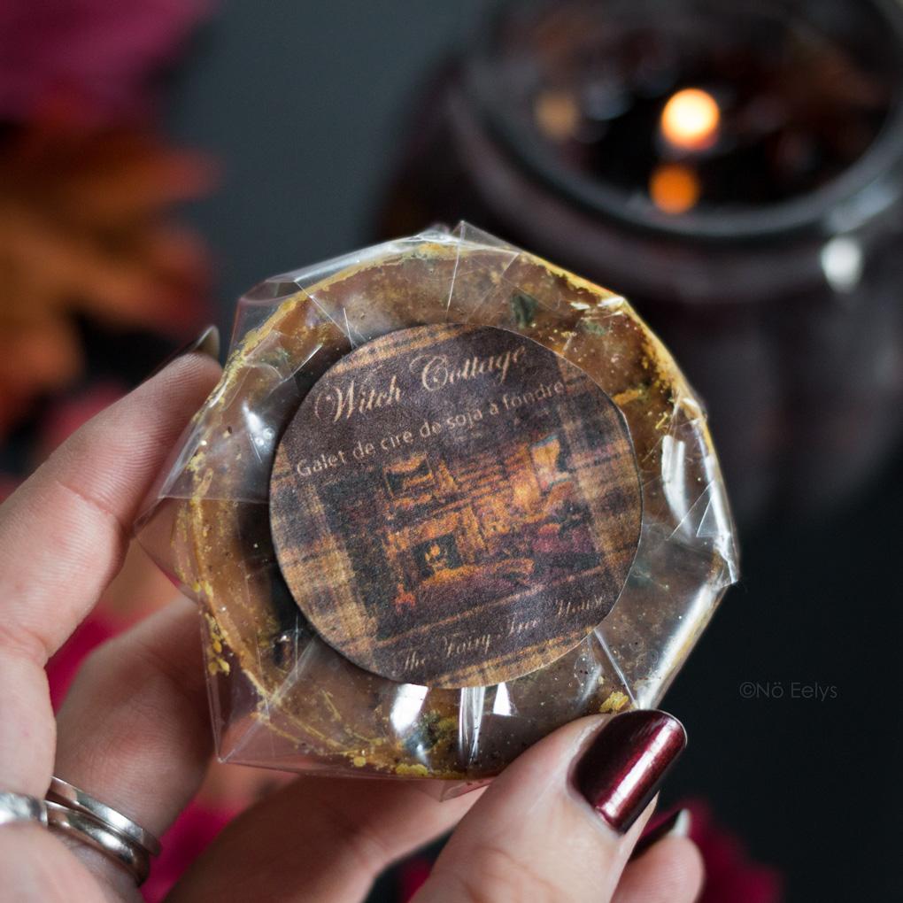 Witch Cottage de Vanillahry (The Fairy Tree House) cire à fondre au soja sorcière Avis parfum pomme cannelle