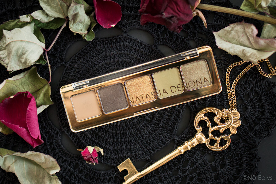 Mon Avis sur la palette Mini Gold Natasha Denona, revue avec photos et swatchs