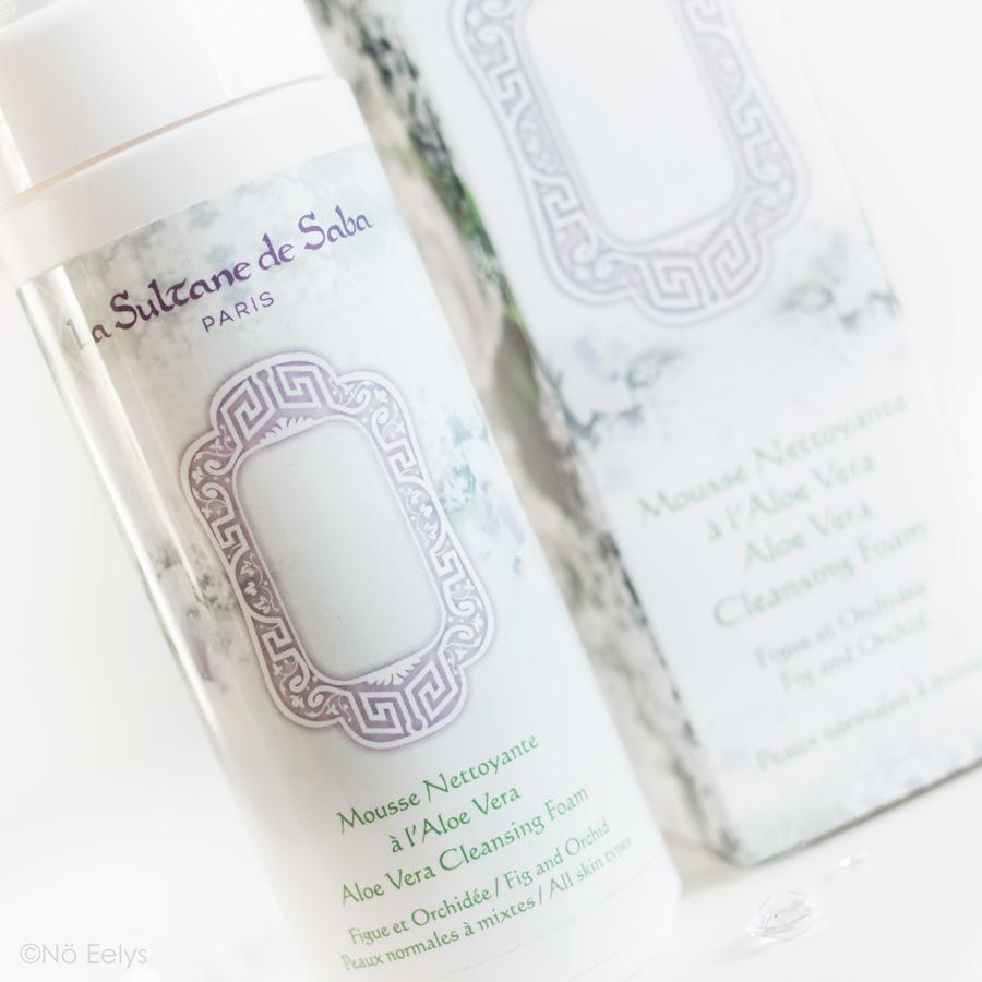 Ma revue sur la Mousse Nettoyante à l'Aloé Vera parfum Figue Orchidée La Sultane de Saba