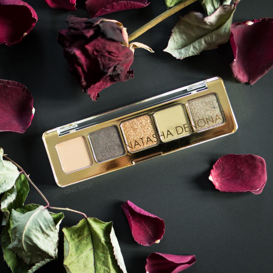 Photo Mini Gold Palette Natasha Denona, avis et revue avec photos
