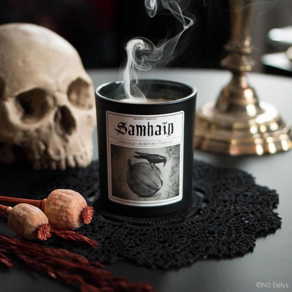 Mon avis sur les bougies Noctis Candle Company (bougies gothiques vegan et cruelty-free) - samhain