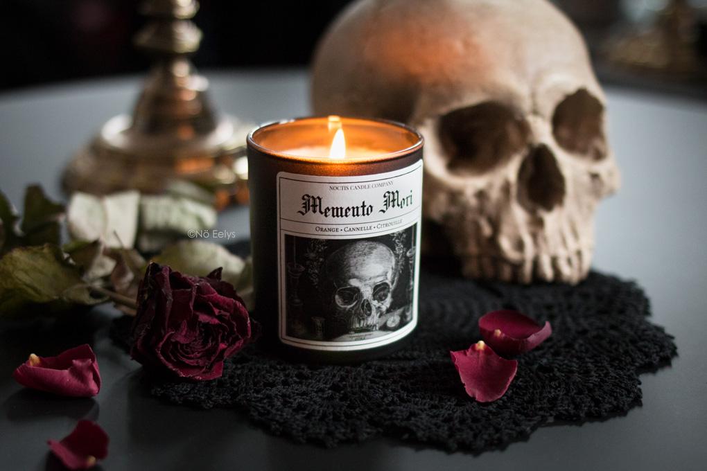 Mon avis sur les bougies Noctis Candle Company (bougies gothiques vegan et cruelty-free)