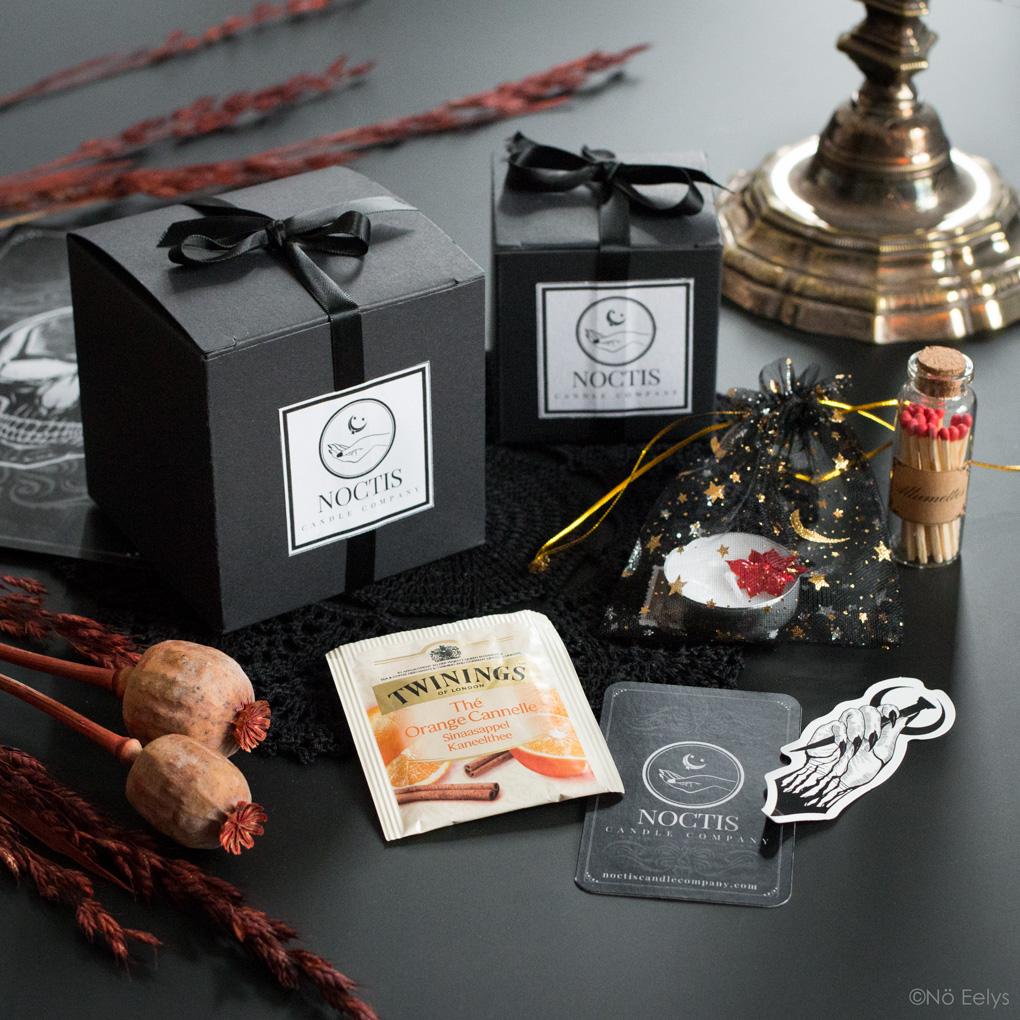 Haul bougies Noctis Candle Company (bougies gothiques vegan et cruelty-free, mon avis)